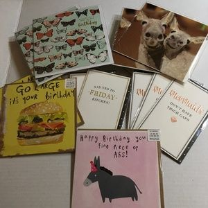 Other - 12/$20 Birthday and greeting cards